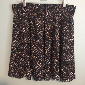 Alfani Black/Brown Skirt